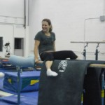 Gymnastics means the end of your comfort zone!