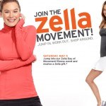 Zella Day of Movement Event at Montgomery Mall