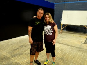 Me and Tony Blauer