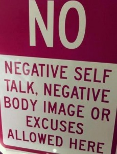 No Negative Talk