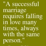 Marriage: Growing Together