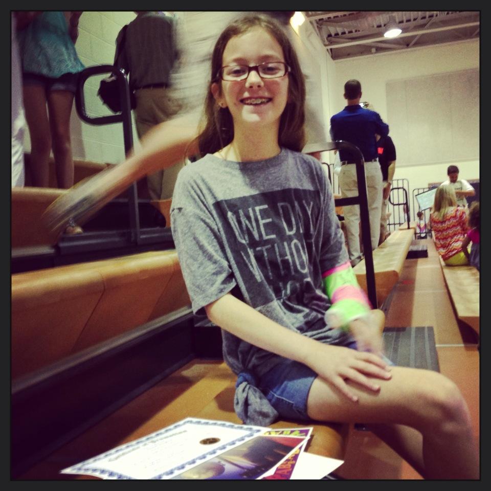 Hannah Graduating Elementary School