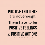 It's not just about Positive Thoughts
