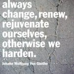 Renew, Rejuvenate and Change