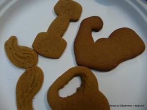 CrossFit Themed Cookies
